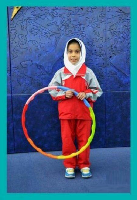 رکورد بانوان /ورزشکار9 ساله