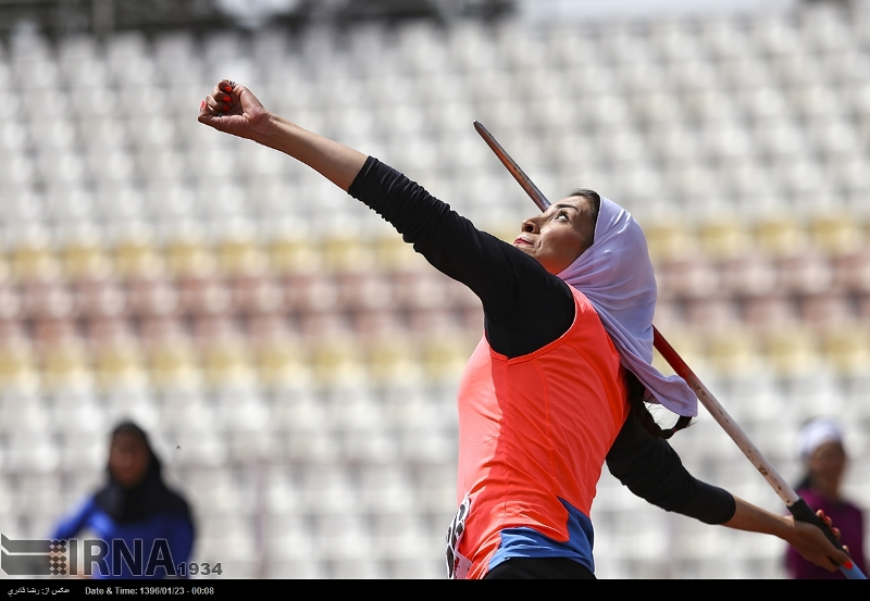 رکورد بانوان ایران