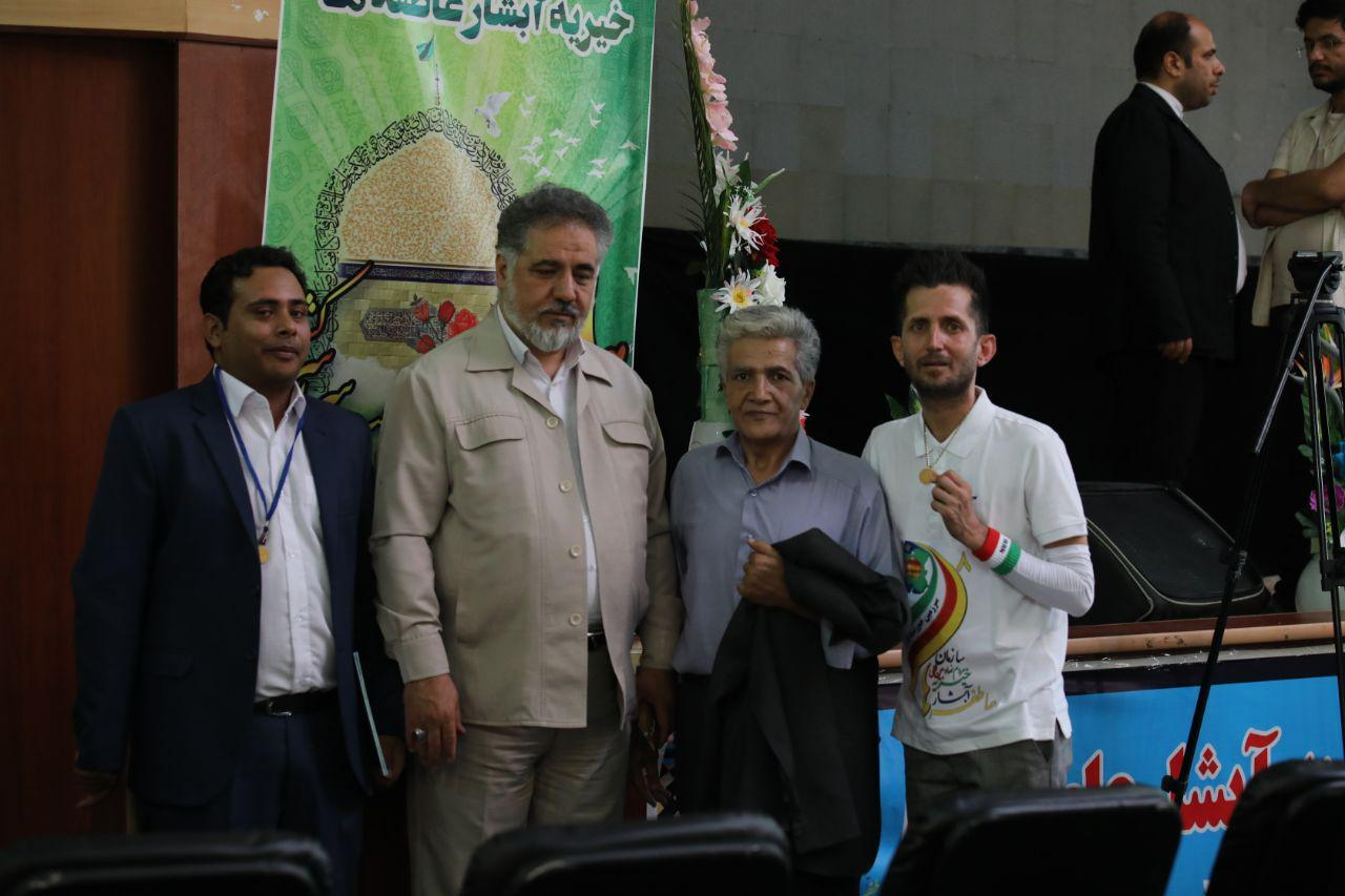 سه عنوان رکورد در مشهد مقدس